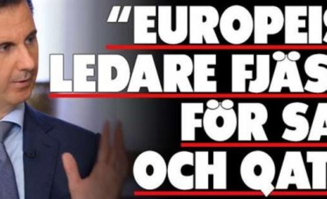 Esed'den, Türkiye, İsveç, Katar ve Suudi Arabistan'a suçlama