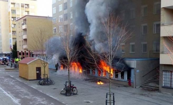 Eskilstulna Cami yangınında ki ilk rapor: Kundaklama değil, teknik bir hata