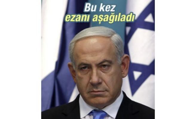 Ezanı aşağılayan Netanyahu'ya Filistinlilerden tepki