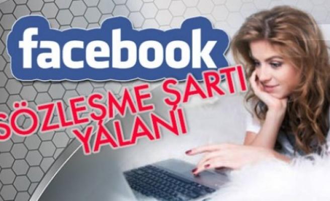 Facebook'ta 'Durum çok ciddi'' Yalanı...