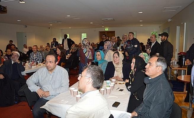 Farklı Din Mensublerı Fittja Ulu Camisi'nde  Buluştu