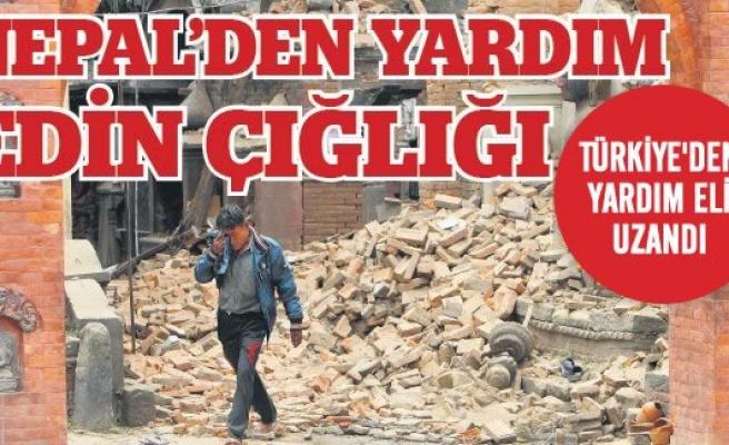 Felaketin beşiği Nepal'e Türkiye'den yardım eli