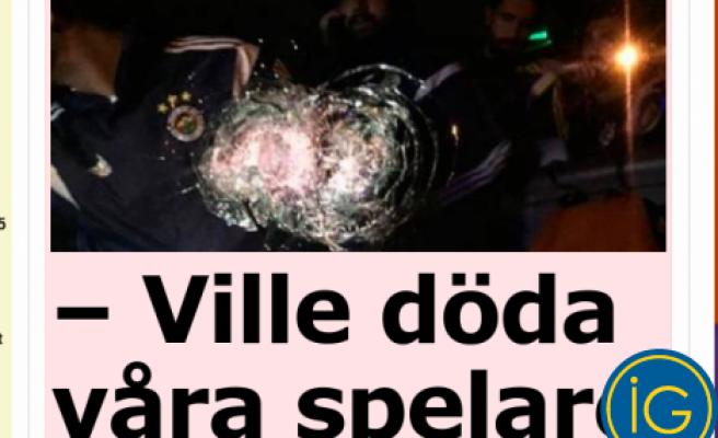 Fenerbahçe otobüsüne saldırı, İsveç basınında flaş haber duyruldu