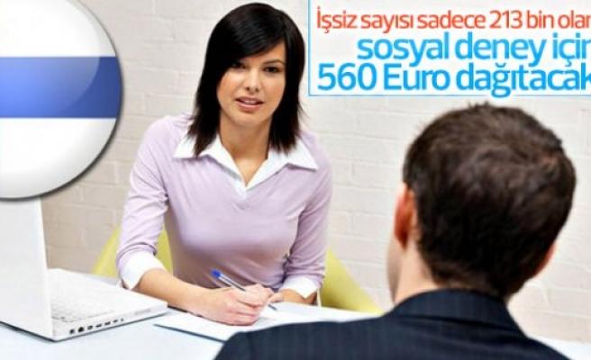Finlandiya'da işsizlere maaş bağlanıyor