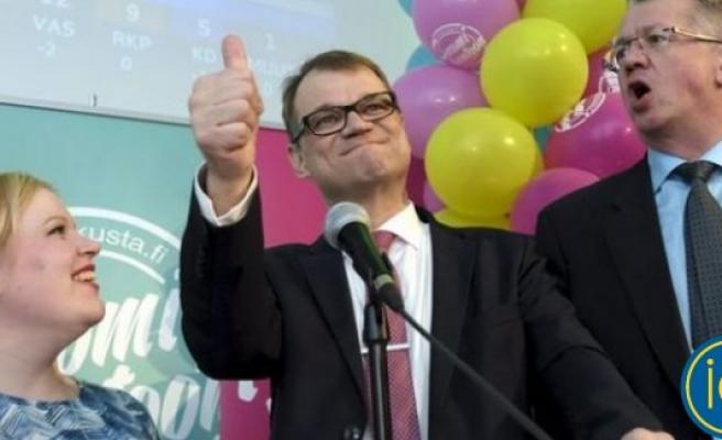 Finlandiya'da seçimin galibi Merkez Partisi oldu