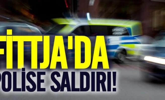 Fittja'da polise saldırı