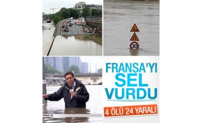 Fransa'da sel bilançosu: 4 ölü 24 yaralı