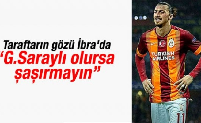 Galatasaray cephesinden Ibrahimovic tweeti