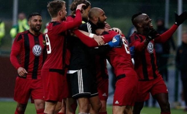 Galatasaray'ın rakibi Östersunds evinde kazandı
