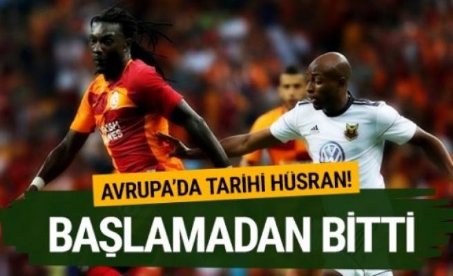 Galatasaray İsveç takımına elendi