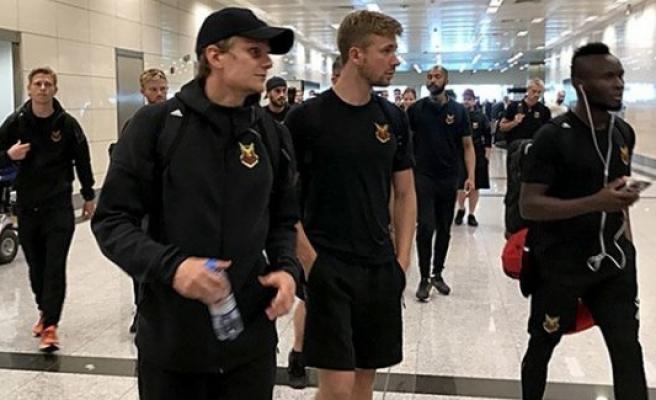 Galatasaray'ın rakibi Östersunds, İstanbul'a geldi