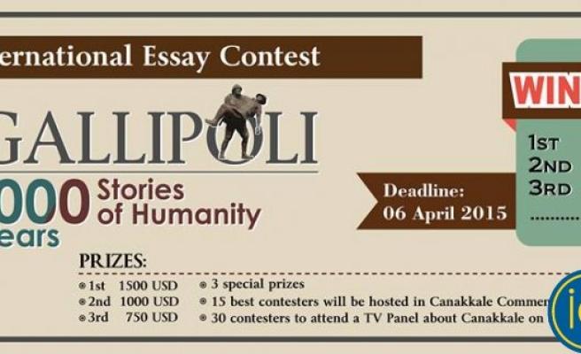 """""""Gelibolu: İnsanlığın 100 Yılı 1000 Hikayesi"""" konulu yarışma"""