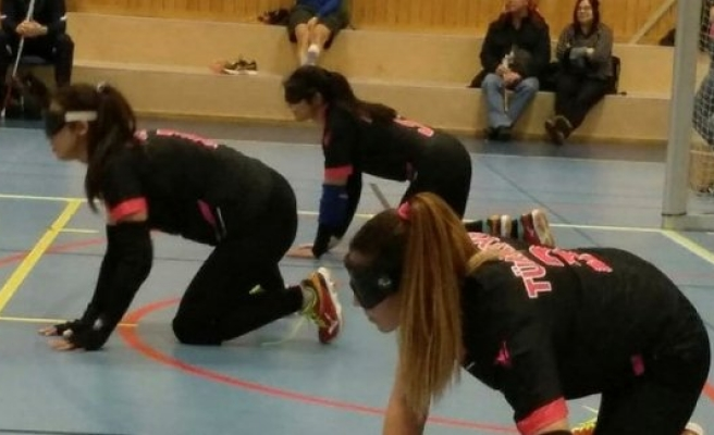 Goalball Kadın Milli Takımı, İsveç'te Durdurulamıyor