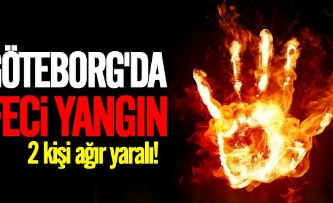 Göteborg'da yangın! 2 kişi ağır yaralı