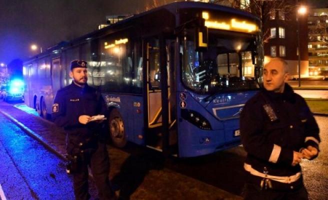 Göteborg'de otobüs şoförünü saldırı