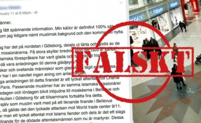 Göteborg'da ki Müslümanlara çirkin iftirayı Metro deşifre etti