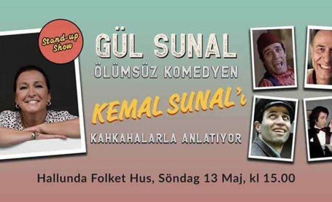 Gül Sunal, Ölümsüz komedyen Kemal Sunal'ı kahkahalarla anlatıyor