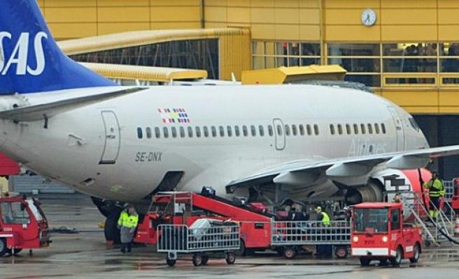 Havada büyük tehlike atlatan SAS Uçağı Stockholm'de geri döndü