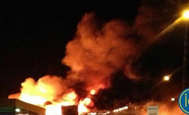 Helsinborg Limanı fena helde yanıyor!