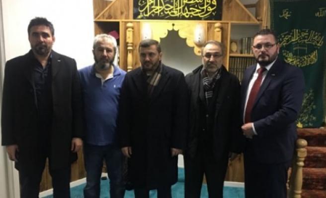 IGMG Genel Başkanı Ergün, Saldırıya Uğrayan Mesciti Ziyaret Etti...
