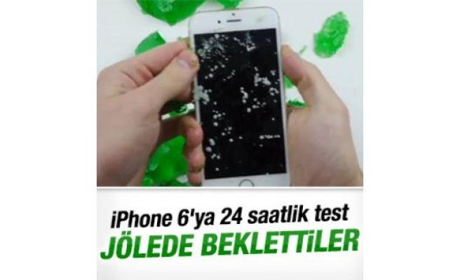 iPhone 6'yı bir gün jölede beklettiler