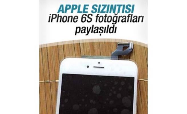 iPhone 6S'e ait görüntüler sızdırıldı