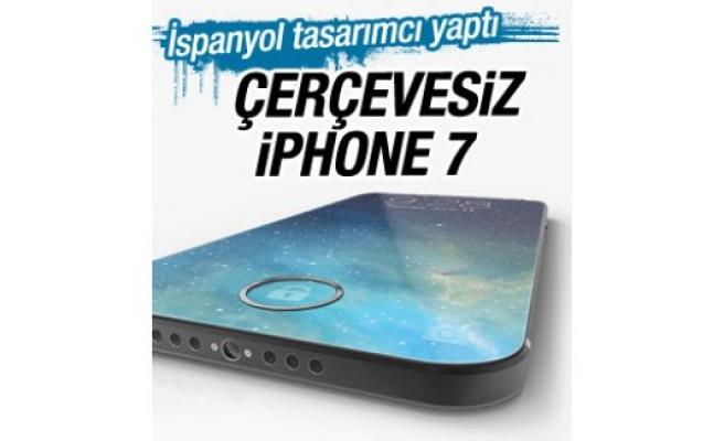 iPhone 7'nin çerçevesiz konsepti İZLE