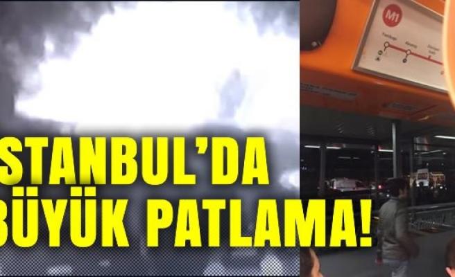 İstanbul metro istasyonunda büyük patlama!