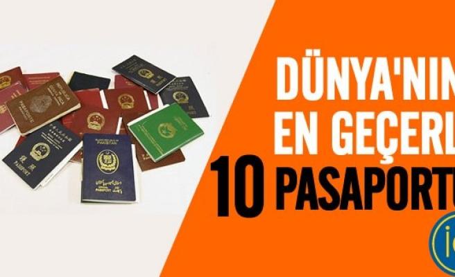 İşte dünya'nın en geçerli 10 pasaportu!