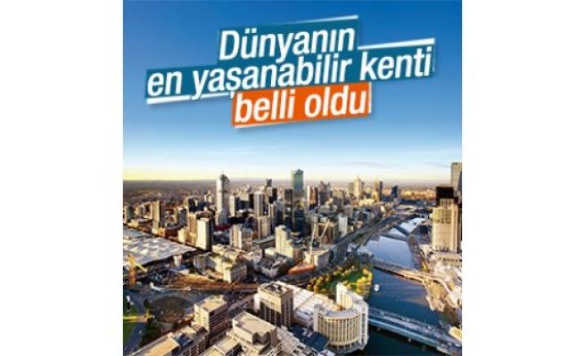 İşte, Dünyanın en yaşanabilir şehri