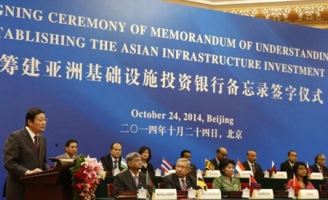 İsveç AIIB Asya Altyapı Kalkınma Bankasına Katılmak İçin Başvurdu