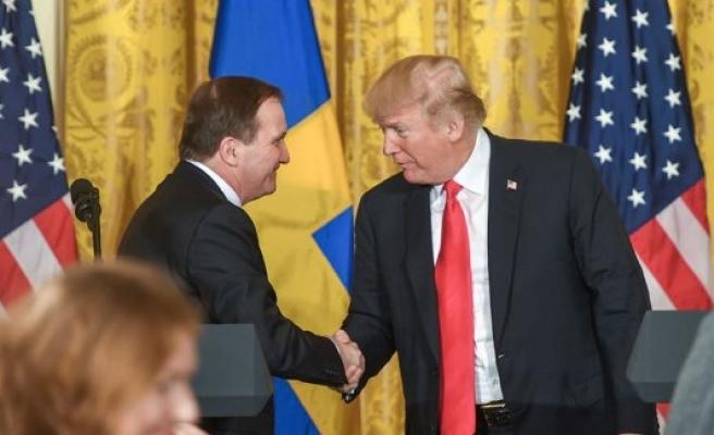 İsveç Başbakanı Löfven ABD'de