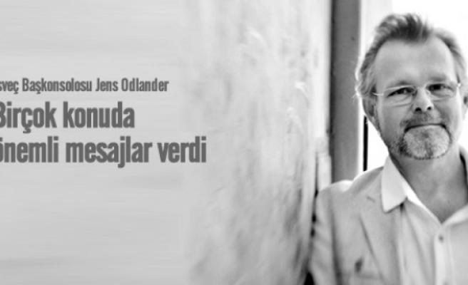 İsveç Başkonsolosu Jens Odlander uzun vize bekleme  sürelerini değerlendirdi
