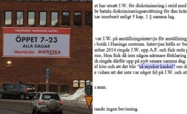 İsveç'de kadın işçi çalıştırmayan markete 75 bin kron  ceza kesildi