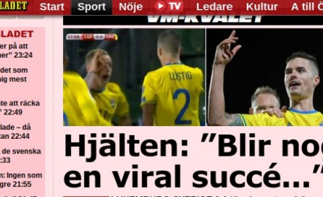 İsveç deplasmanda rahat kazandı