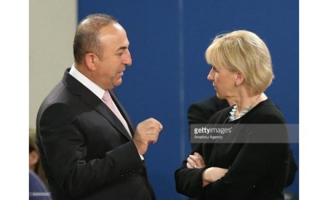 İsveç Dışişleri Bakanı Wallström, Türkiye'ye gidiyor...