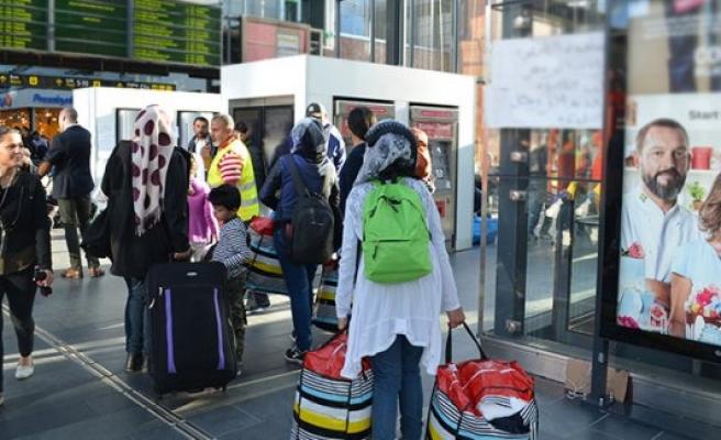 İsveç'e bu hafta 10 bine yakın sığınmacı geldi
