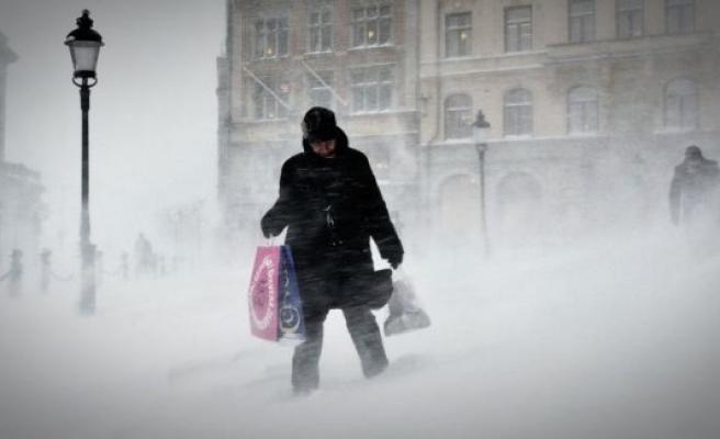 İsveç'e dondurucu soğuklar geliyor...