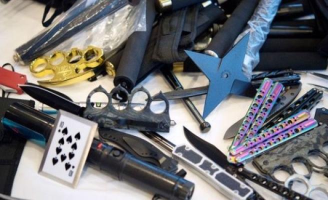 İsveç'e kaçak sokulan silahlar da büyük artış