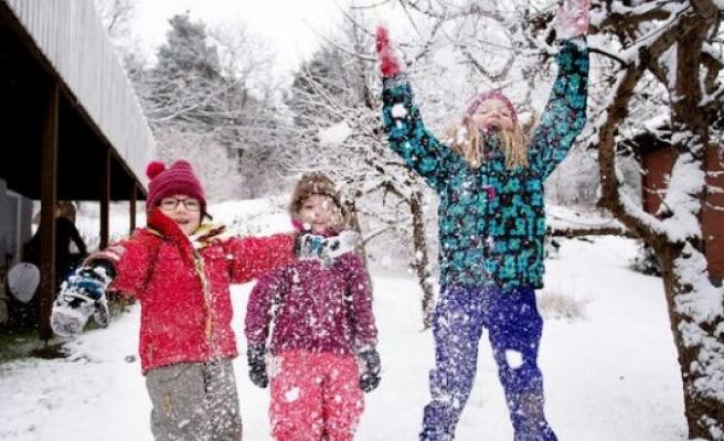 İsveç'e Noel Bayramı öncesi kar geliyor