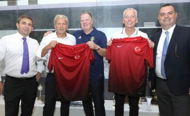 İsveç Futbol Federasyonu'ndan Türkiye'ye üst düzey ziyaret