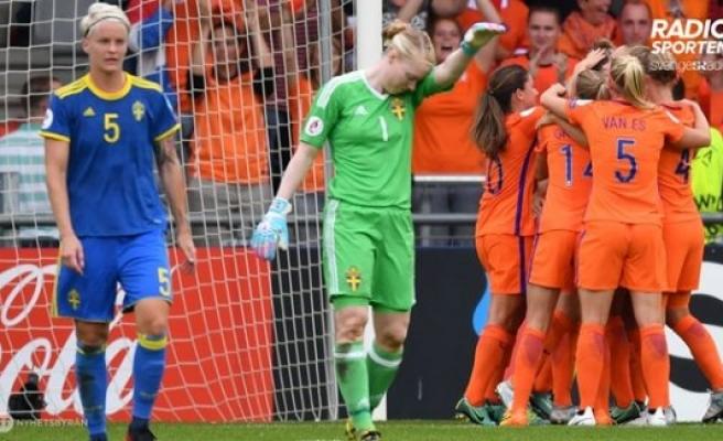İsveç Hollanda'ya yenildi