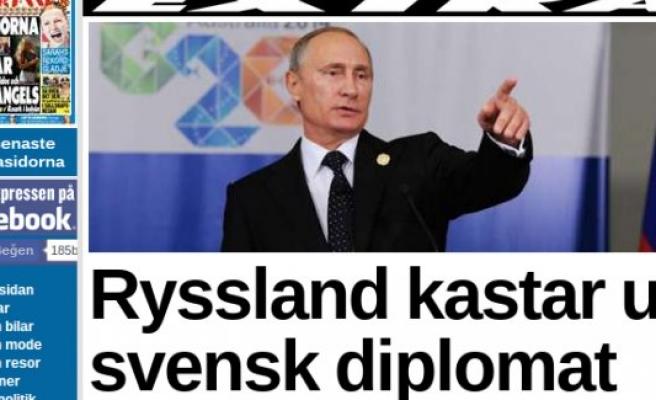 İsveç ile Rusya arasında diplomat krizi