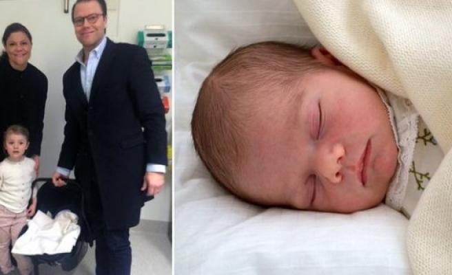 İsveç'in en küçük prensi vaftiz edildi