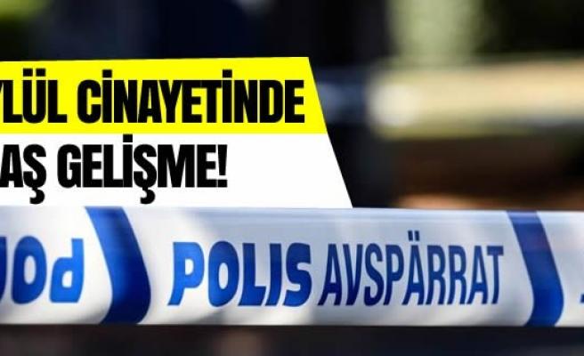 İsveç'in Eylül cinayetinde flaş gelişme