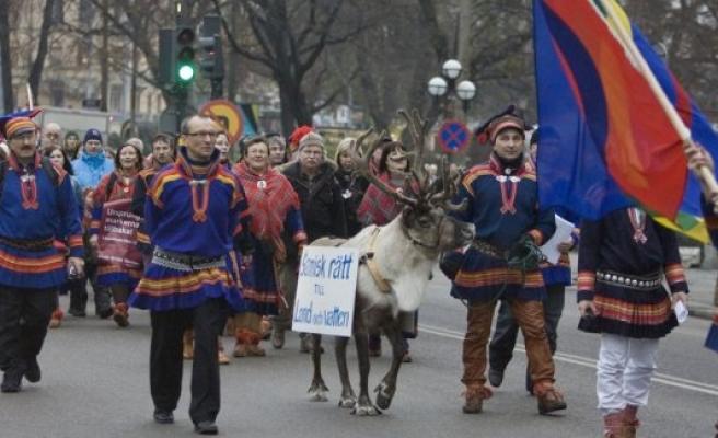 İsveç'in gerçek sahibi Laponlar( Samer) halkının milli günü