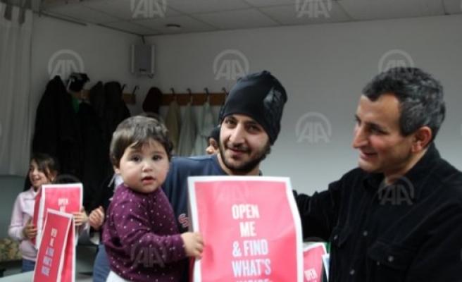 İsveç İslam Federasyonundan Suriyeli Sığınmacılara Yardım