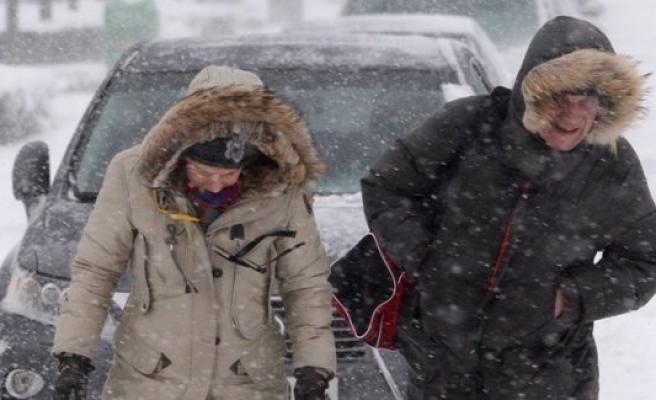 İsveç genelinde kar yağışı bekleniyor...