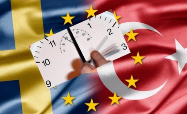 İsveç'le Türkiye arasındaki saat farkı 2'ye çıkacak...