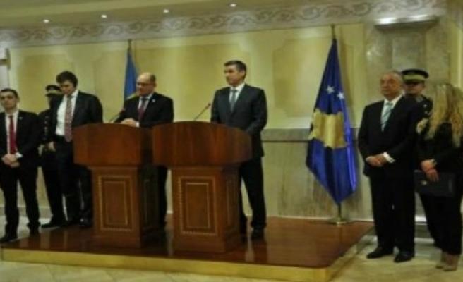 İsveç Meclis Başkanı Urban Ahlin, Kosova'da